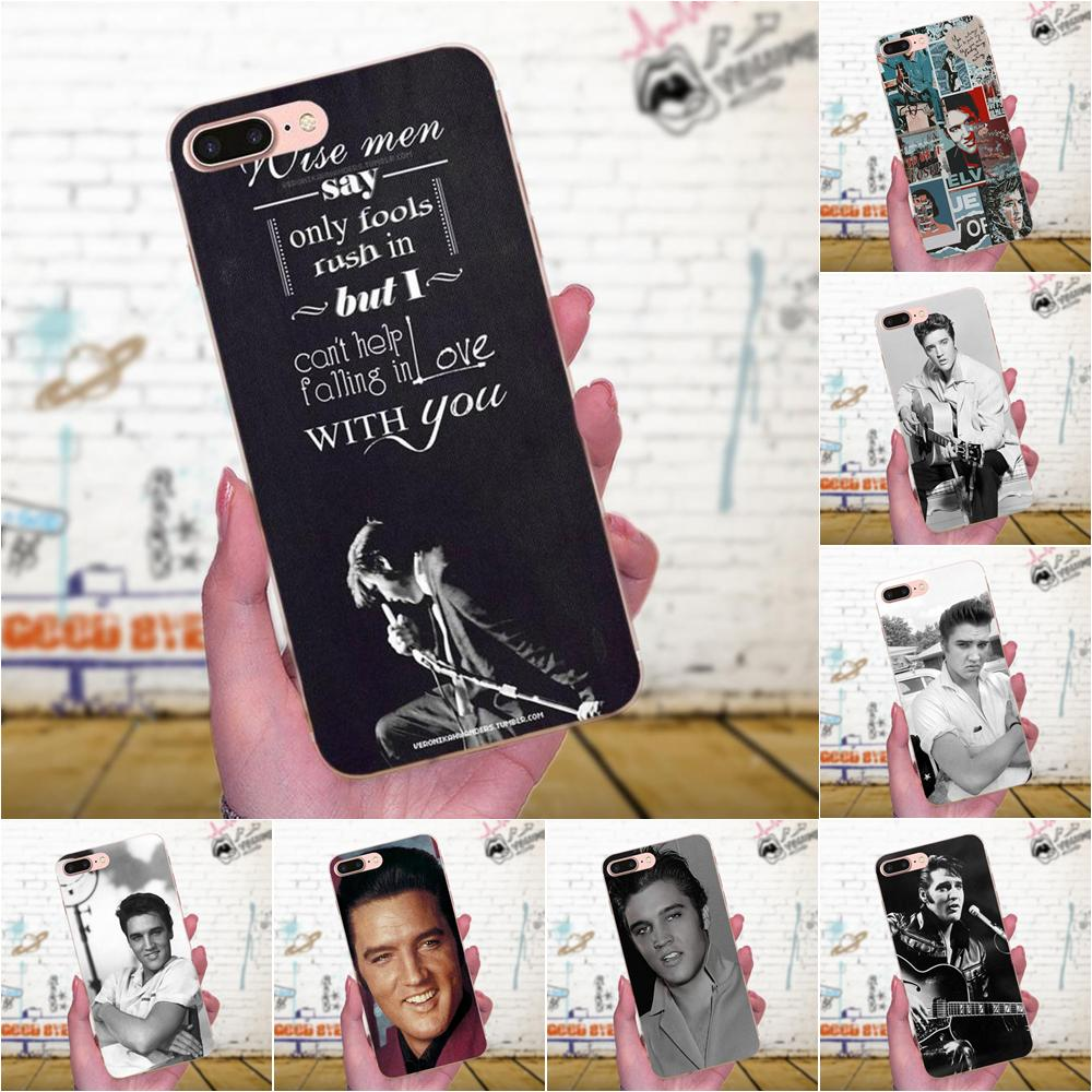 Elvis Presley Kiss Soft Case For Galaxy A3 A5 A7 On5 On7 2015 2016 2017 Grand Alpha G850 Core2 Prime S2 I9082 image
