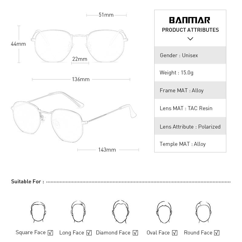 BANMAR Luxury Mirror Sunglasses Women Men Brand Designer Glasses Lady Round Sun Glasses Street Beat Oculos De Sol Gafas in Women 39 s Sunglasses from Apparel Accessories