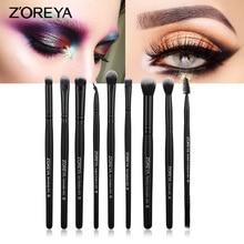 9 makeup brush set makeup brush powder eyebrow powder blush cosmetics set professional makeup makeup tools все цены