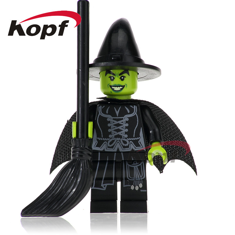 Single Sale Super Heroes Wizard of Oz Wicked Witch Steward Man Alfred Bricks Action Building Blocks Children Gift Toys PG256 футболка tommy hilfiger denim tommy hilfiger denim to013ewtpb53