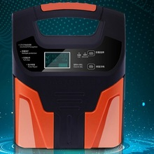 12V 24V Car Motorcycle Battery Charger Universal Full Intelligent Automatic Battery Pure Copper Charger Digital Display Charger digital display car charger battery