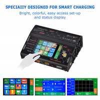 2018 nouveau HTRC HT206 AC/DC écran tactile RC Balance chargeur pour batterie Li ion EU Plug