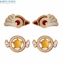 Fashion Personality Lovely Bird Stud Earrings Cute Enamel Beautiful Earrings For Women Trendy Alloy Jewelry Accessories Girly недорого