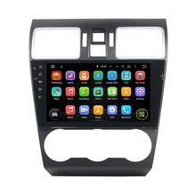 9″ Android 5.1 GPS Navigation Car Multimedia Player For SUBARU WRX 2014-2016 Touch Screen Car Stereo Video Audio Free MAP