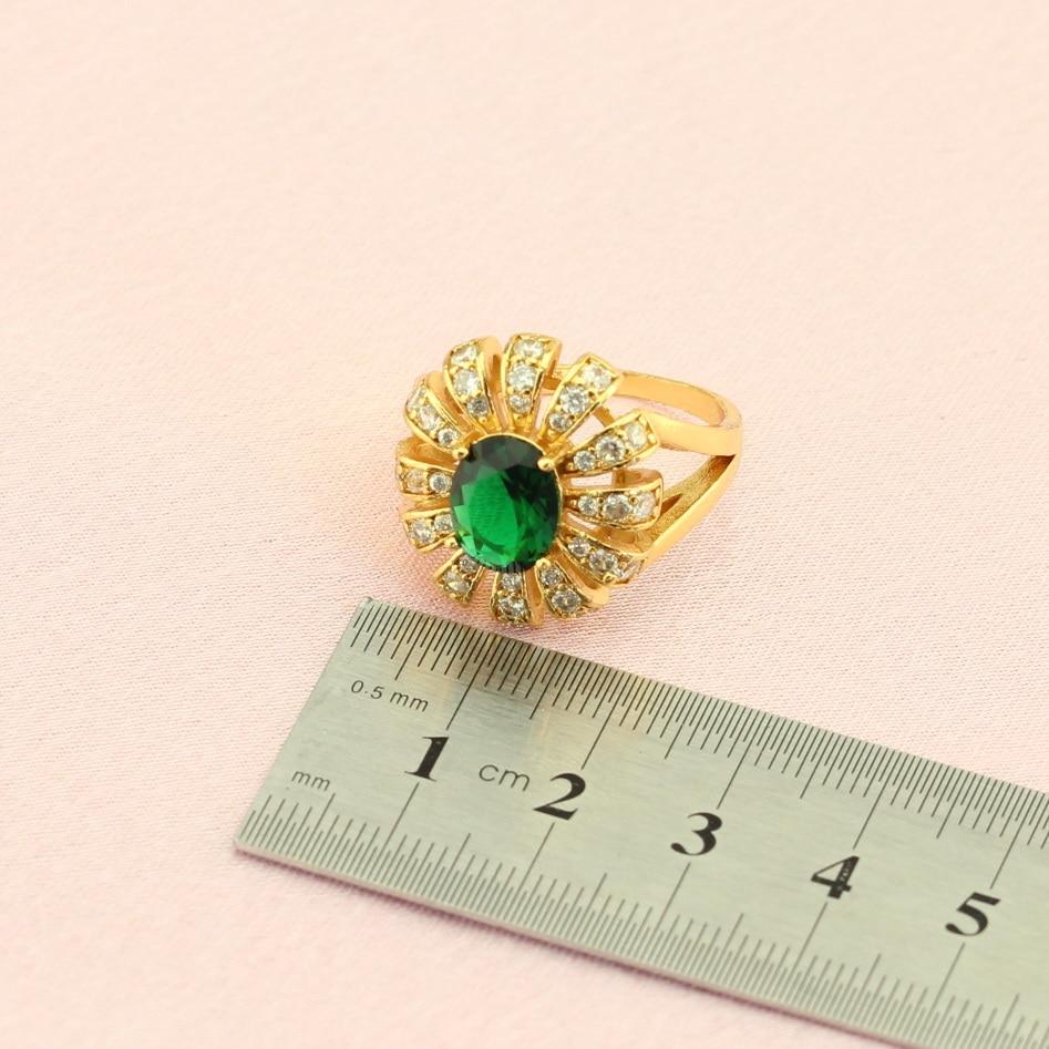 WPAITKYS λουλούδι πράσινο κυβικά - Κοσμήματα μόδας - Φωτογραφία 4