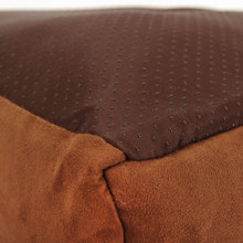 Elegant Suede Bed with Cushion