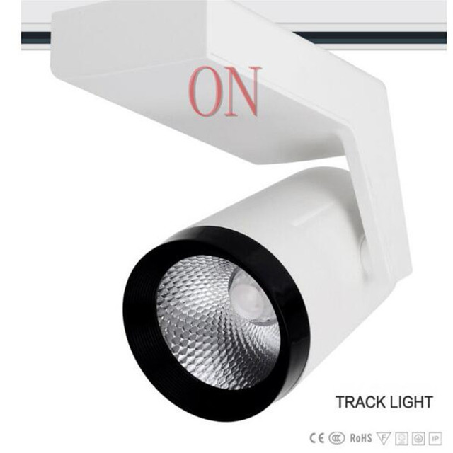 45w cob led track light rail spotlight lamp display cabinet ac85