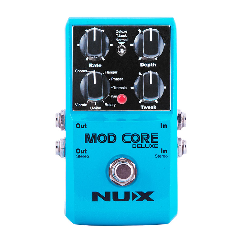 NUX MOD CORE Роскошная Гитара педаль эффектов 8 модуляционных эффектов предустановленный тон замок Высокое качество гитарра педаль гитарные час