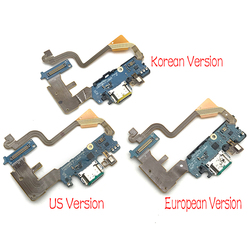 New For LG G7 Thinq G710 Micro USB Charger Dock Connector Charging Port Microphone Flex Cable Replacement Parts