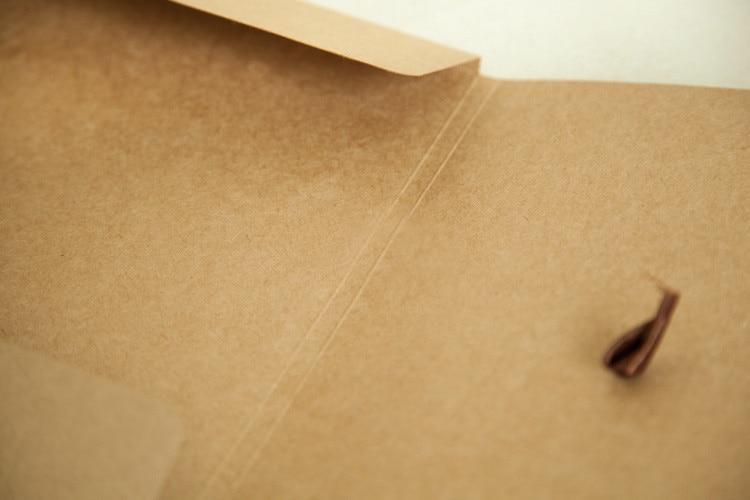 Nieuwe 24 * 18 * 0.7 cm 3 Kleur Envelop Kraftpapier Tassen Diy - Home opslag en organisatie - Foto 2