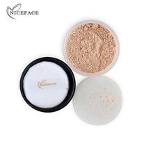 NICEFACE 5 Colors Loose Waterproof Oil control sweat lasting Face Makeu
