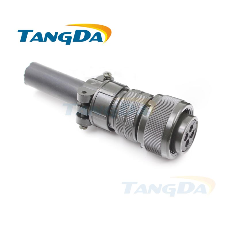 Tangda Connectors MR-PWCNS4 18-10S MS3106 3106B18-10S 4P 4PIN 4 core 5015 Electric machinery Aviation plug Servo motor encoder 7410 1511 000 rf connectors coaxial connectors ssmb m ra b mr li