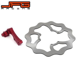 Motorcycle 270mm Front Brake Disc Rotor + Bracket For Honda CR125R CR125E CRE250 CR250 CR250R CRF250X CRF250R CRF450R CRF450X