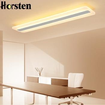 Modern Acrylic Led Ceiling Lights Rectangle Ultra-thin Ceiling Lamp Luminaire Bedroom Corridor Foyer Led Ceiling Light Fixtures