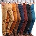 Молодежь 2016 новая зимняя мужская повседневная брюки прямые брюки