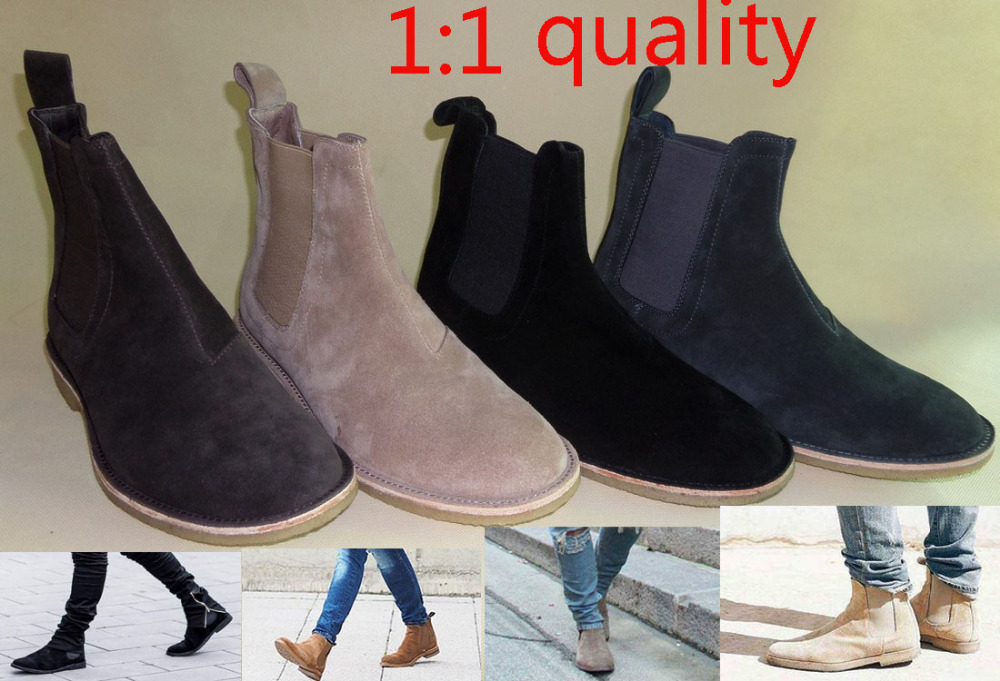 Popular Leather Boots Men-Buy Cheap Leather Boots Men lots from ...