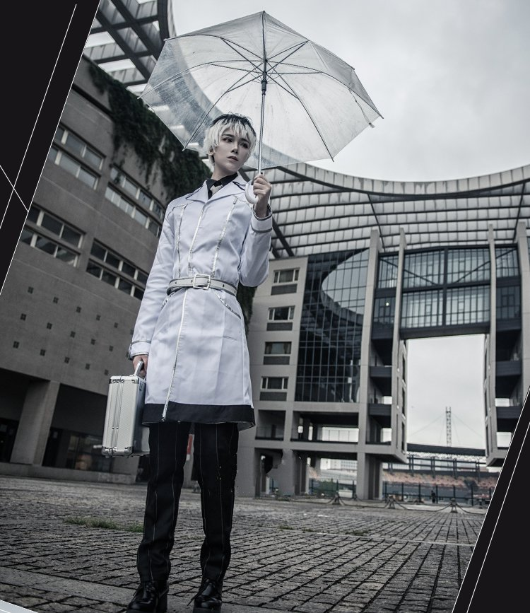 Tokyo Ghoul Cosplay Costumes Haise Sasaki Ken Kaneki uniforme Costumes pour hommes