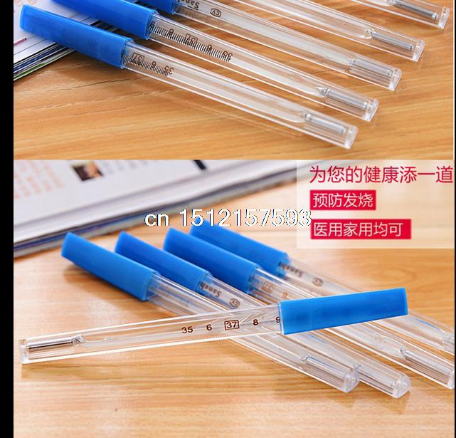 5/10pcs/100pcsglass clinical thermometer refractometer baby mercury thermometer Household and Medical Oxter and Mouth hard tip