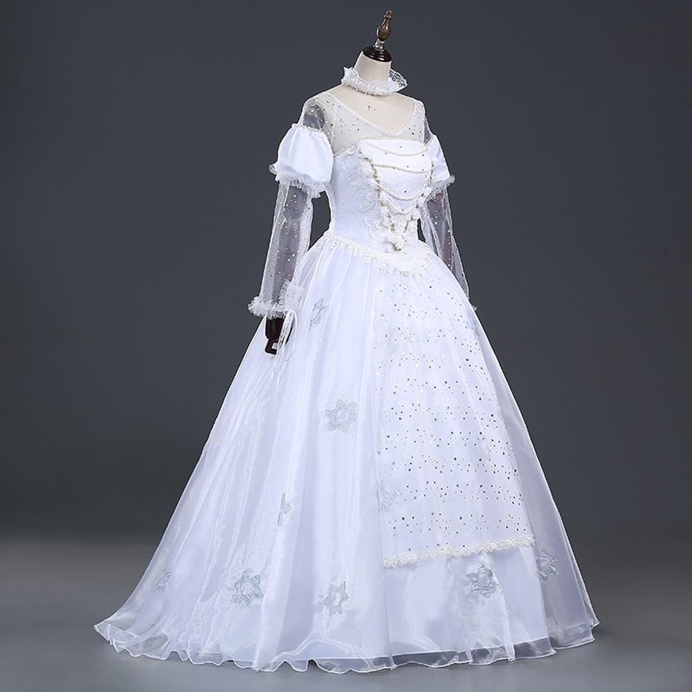 ワンダーランドコスプレ衣装は白クイーンmirana衣装大人ハロウィン衣装mirana白いドレス  グループ上の ノベルティ & 特殊用途 からの 映画 & テレビ衣装 の中 3