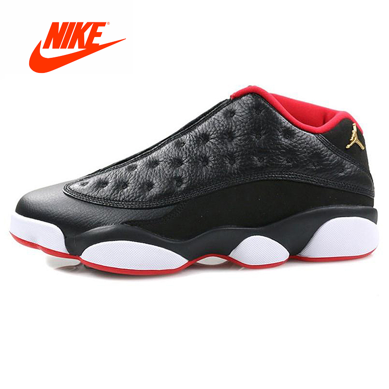 info for 4a647 126f3 Original New Arrival Authentic Nike Air Jordan 13 Retro Low Bred Men  Basketball Shoes Sport Sneakers Outdoor Good Quality