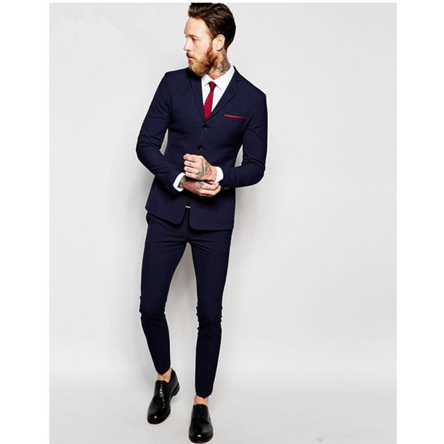 Bleu À Messieurs Made Les Colour Costumes As Homme Picture 2018 Costume Hommes Blazer Automne Taille custom Custom De Plus La Pour D'affaires Smoking Main Mariage dqEtdfw