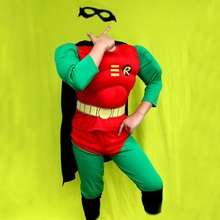 Robin Muscle Costumes or Robin NON-Muscle Costumes