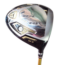 New HONMA Golf Driver S-03 3 Star Golf clubs 9.5 or 10.5 loft Golf Graphite shaft and Driver headcover Cooyute Free shipping