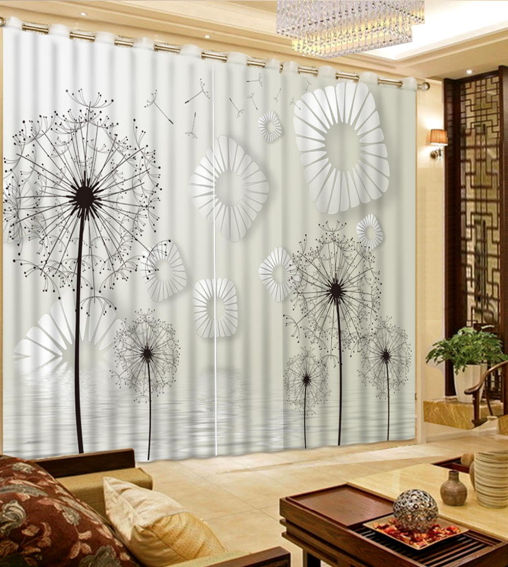 European Luxury Curtain For Living room Custom Fashion romantic ...