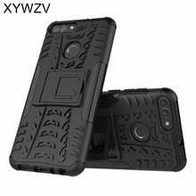 sFor Coque Huawei P Smart Case Shockproof Hard PC Silicone Phone For Cover Enjoy 7S Shell XYWZV