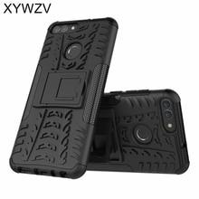 sFor Coque Huawei P Smart Case Shockproof Hard PC Silicone Phone Case For Huawei P Smart Cover For Huawei Enjoy 7S Shell XYWZV