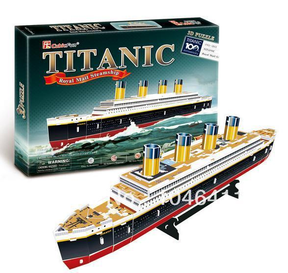 RMS TITANIC CubicFun 3D educational puzzle Paper & EPS Model Papercraft Home Adornment for christmas gift