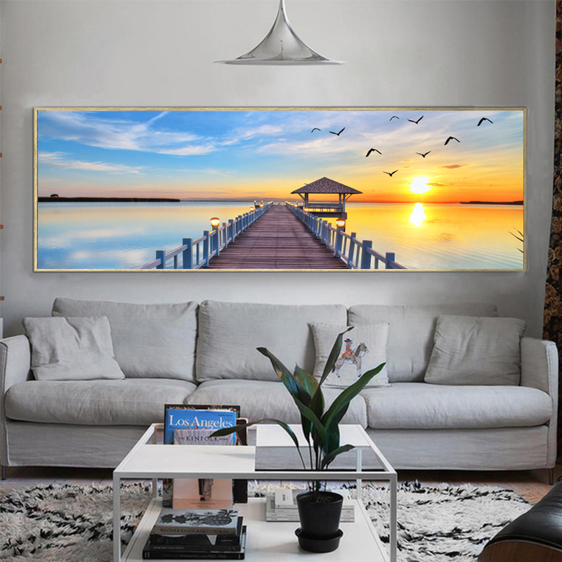 Modular Pictures Landscape Wall Art Painting For Living Room Cuadros Decoration Canvas Dropshipping canvas prints