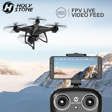 Holy Stone HS100 GPS Drone WiFi Camera Real-time FPV Quadcopter 1080P Wide Angle HD Camera Drone 4CH RC Helicopter Toys Gift