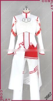 [Customize] Anime Sword Art Online Figure Asuna Male Ver. Uniform Full set cosplay costume New 2017 free shipping