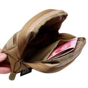 Image 2 - Ao ar livre Militar Tático EDC Saco de Multi função Portátil de Bolso Durável Molle Ferramenta Bolsos Com Zíper Acessórios