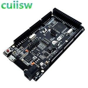 Cuiisw Mega2560 + WiFi R3 ATmega2560+ESP8266 32Mb memory USB-TTL CH340G. Compatible for Arduino Mega NodeMCU For WeMos ESP8266(China)