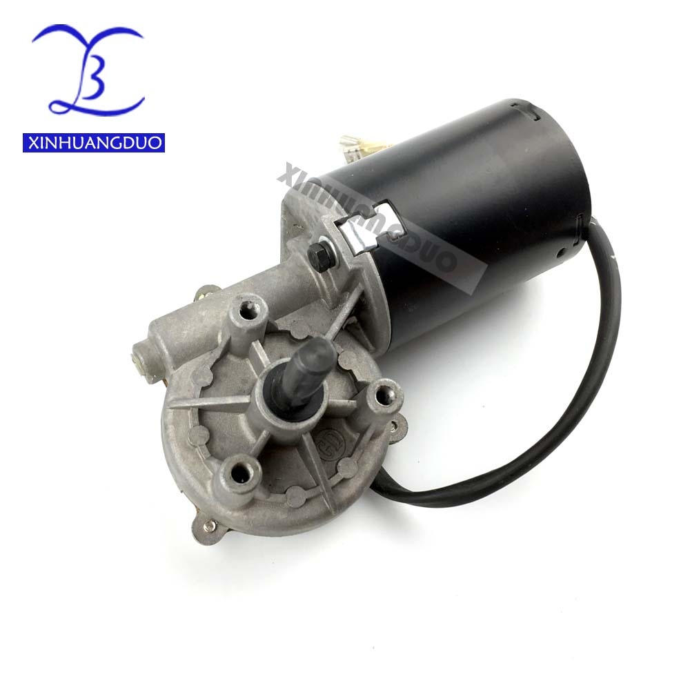 GW6280 DC 24V 30 <font><b>50</b></font> 100 <font><b>rpm</b></font> Electric Worm Gear <font><b>Motor</b></font> Right version Self-locking Garage door replacement Windshield wiper Grill D image
