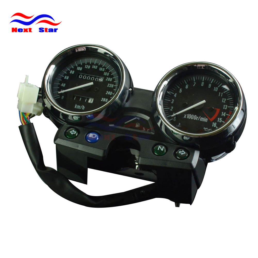 260 Motorcycle Speedometer Tachometer Odometer Display Gauges For KAWASAKI ZRX400 ZRX750 ZRX1100 ZRX <font><b>400</b></font> 750 1100 94 95 96 97 image