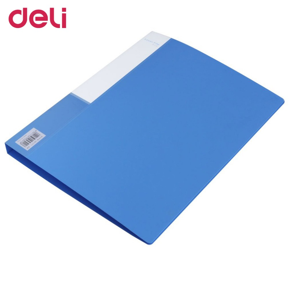 Deli A4 Single Powerful Clip File Folder Document Folder And Pouch For Files Sorting Office School Supplies Dropshipping 40D5301