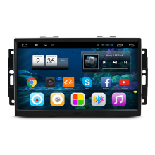 9″ Quad Core Android 4.4 Car Radio DVD GPS Navigation Central Multimedia for Chrysler 300C Aspen Cherokee Commander 2004-2008