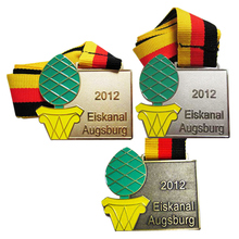 Zinc Alloy Commemorative Medal for larger orders and lower price 3D metal medals international orders