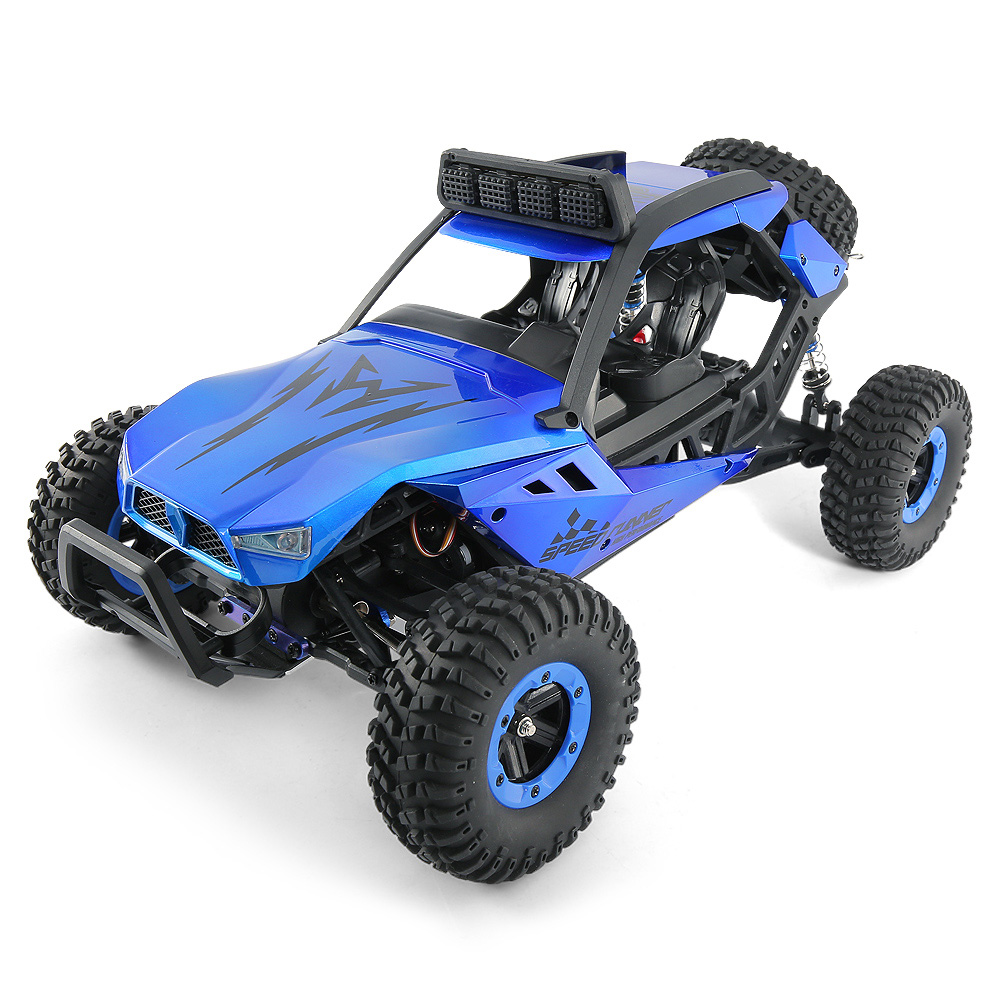 JJRC JJRC Q46 112 2.4G RC Car 4WD 45kmh High Speed Rock Crawler Desert Buggy Cars RTR for Kids Children Gifts RC Toys (1)