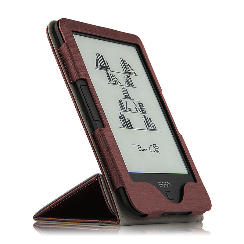 Case For ONYX BOOX C67ML 6 Inch PU Protective EBook Reader Smart Cover Protector Leather + Stylus