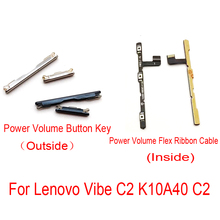 New Power Volume Side Key Button Flex Cable Ribbon For Lenov