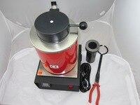1kg electric melting furnace,Melt Scrap Silver & Gold Resistive heating furnace at Home