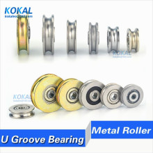 10 шт./лот, высокое качество, хромированная сталь GCR15 U/V/H, направляющая проволока, направляющий шкив, рельсовый подшипник, колеса, стальные подшипники, ролики 12-60 мм