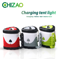 CHIZAO Dimmable Camping Portable Light Flashlight Multifunction Travel Super Bright Tent Light Portable Lanterns USB Charging