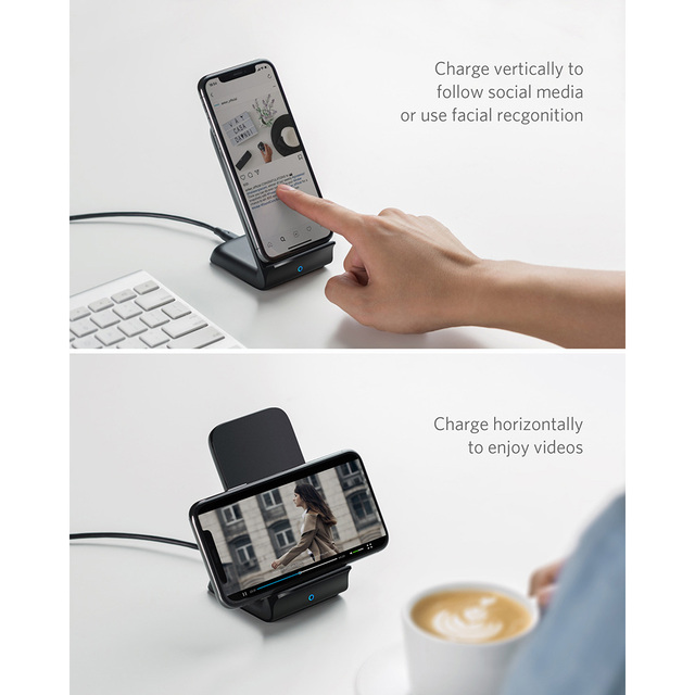 Wireless Phone Charging Stand