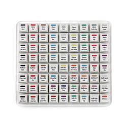 R3 KBDfans super 72 switches tester zealio cherry gateron kailh box navy switch