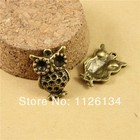 A1220 new 2014 WHOLESALE charm retro owl DIY Accessories alloy Jewelry Findings
